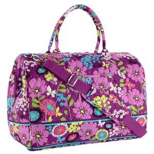 Vera Bradley Flutterby Frame Travel Bag Duffel